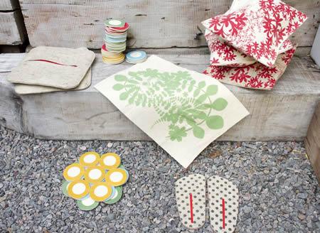 El fieltro, biodegradable y flexible