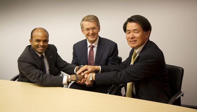 Acuerdo Ford-Daimler Nissan autos eléctricos