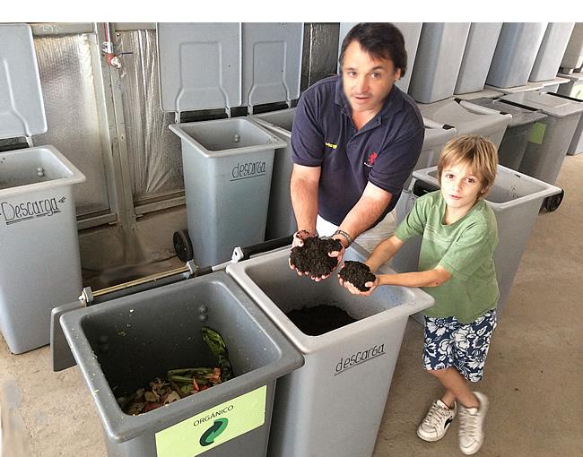 TOM recicla sus residuos orgánicos