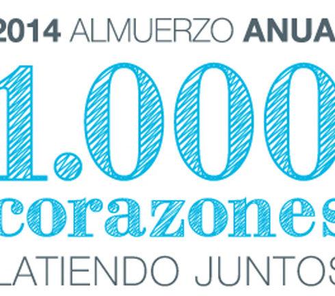 1000 Corazones Latiendo Juntos