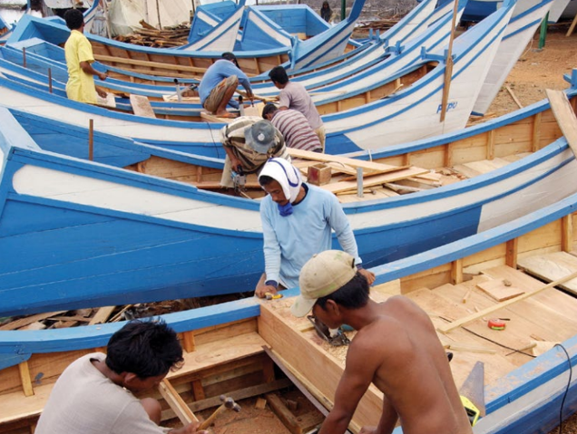 Pesca artesanal: primera ley modelo