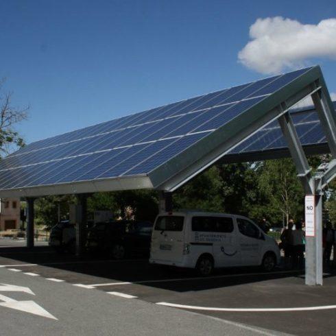estaciones de carga sostenibles