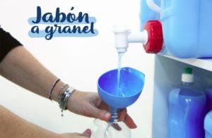 A granel: la venta al peso de jabones y detergentes en Madrid