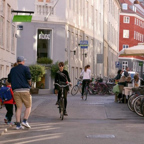 Copenhagen, ciudad ideal para la bicicleta