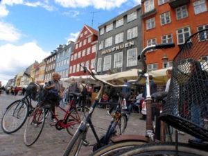 Copenhagen: el placer de andar en bicicleta