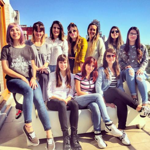 Un grupo de mujeres enroladas en Publicitarias