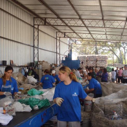 Creando Conciencia, cooperativa de reciclado