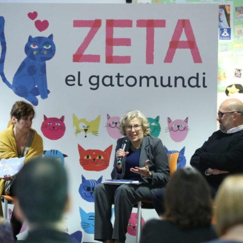 Yo soy Zeta, cuento para bebés madrileños
