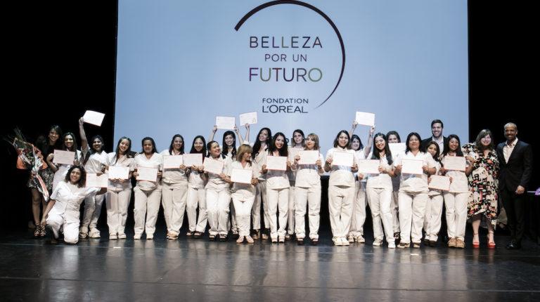 Belleza por un futuro, el programa de capacitación de Fundación L'Oréal