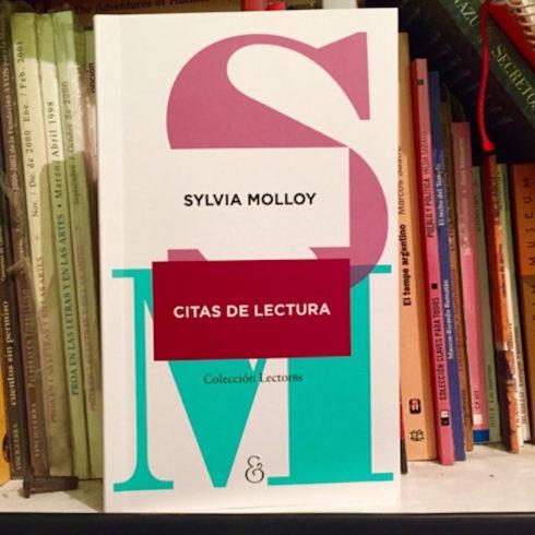 """""""Cita con lecturas"""" de Sylvia Molloy"""