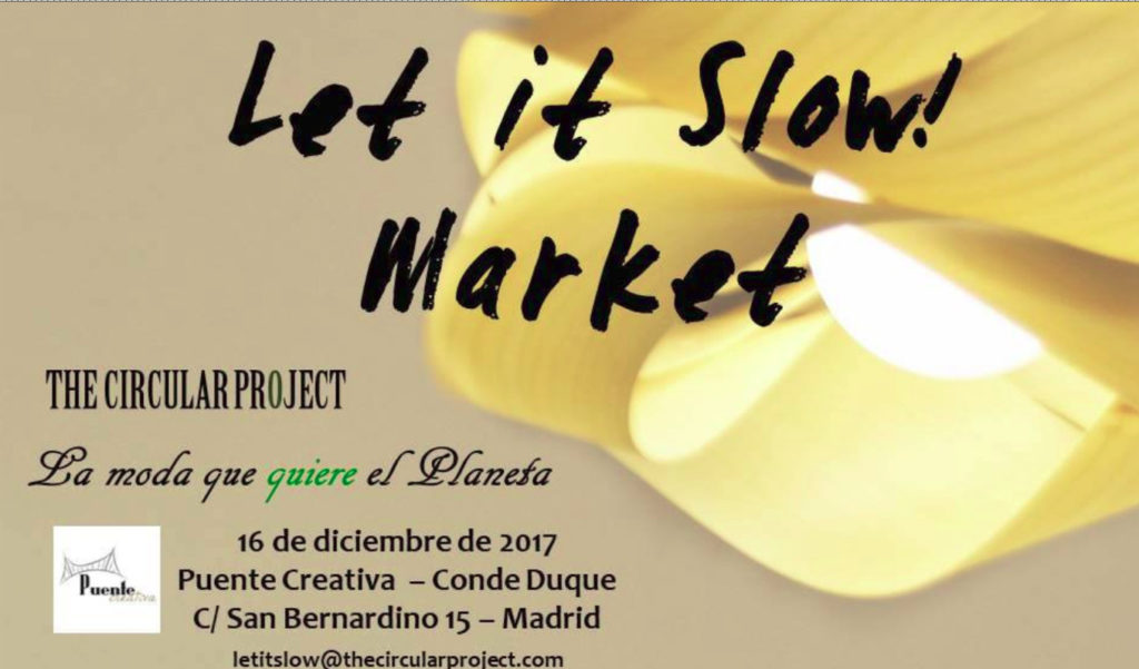 Let It Slow! Market o moda sostenible navideña