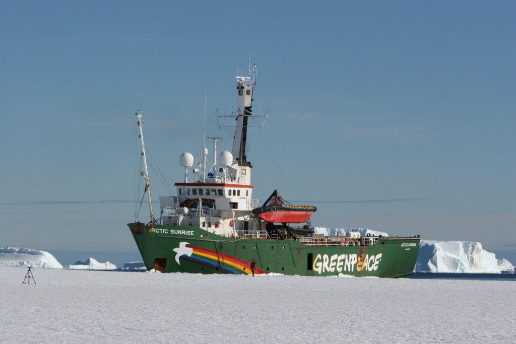 Javier y Carlos Bardem en el Antártico
