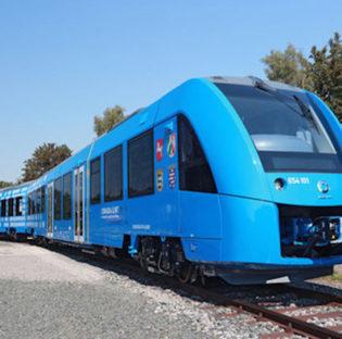 Tren impulsado por hidrógeno
