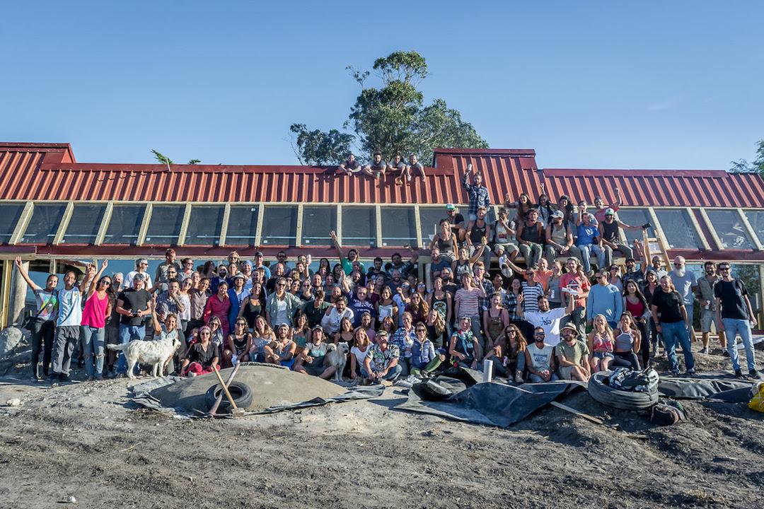 Escuela sustentable en Mar Chiquita