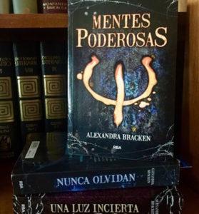 Popurrí literario: Mentes poderosas de Alexandra Bracken