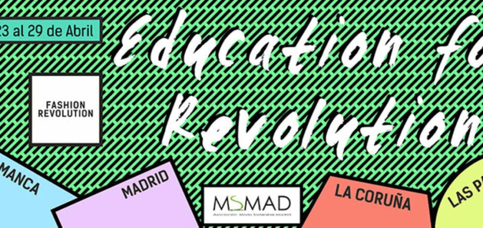 La Asociación de Moda Sostenible de Madrid y la Fashion Revolution Week