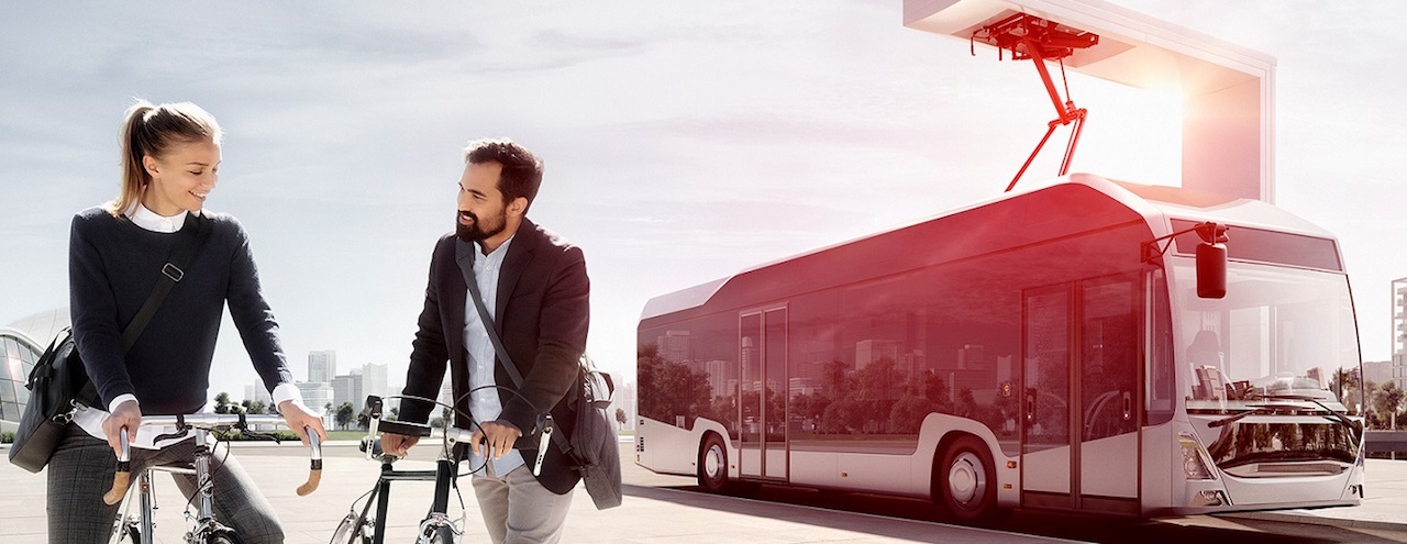 Autobuses eléctricos en Noruega