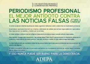 Esta noticia tiene editor responsable. #noticiasfalsasNO #periodismoprofesionalSI @Adepargentina