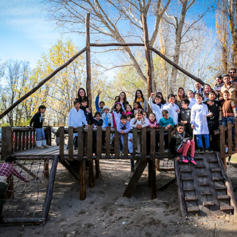 Escuela Provincial Benito Lynch, en Mendoza