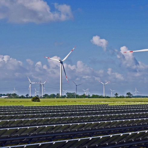 Crecimiento de las renovables según IRENA