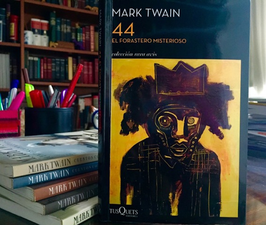 """Mark Twain y """"44. El forastero misterioso"""""""
