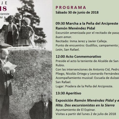 Homenaje a Ramón Menéndez Pidal