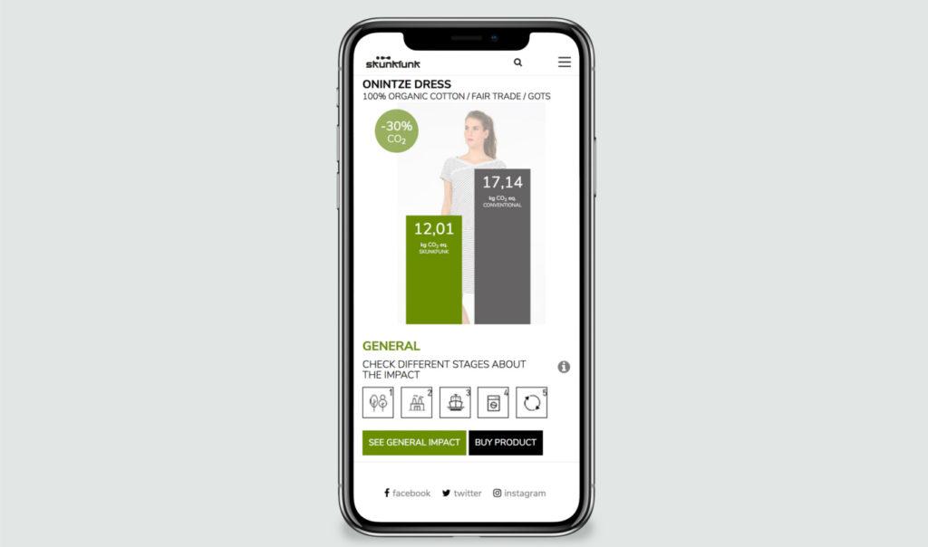 Una aplicación, primera herramienta interactiva para medir la huella de carbono de la ropa