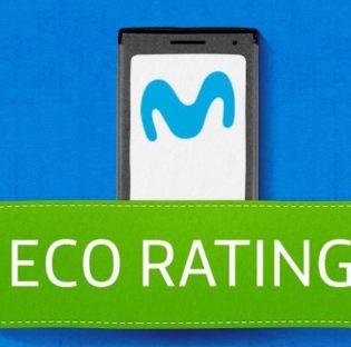 Eco Rating de Movistar en la Semana del Medio Ambiente