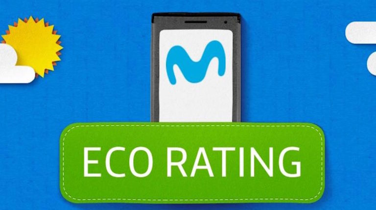 Eco Rating de Movistar en la Semana del Medio Ambiente