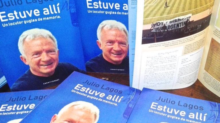 Julio Lagos presenta nuevo libro