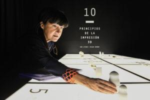 Arquitecta y diseñadora española Carme Baselga Fúster, curadora de 3D. Imprimir el Mundo