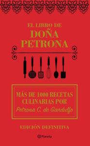 Portada de El Libro de Doña Petrona, Edición Definitiva