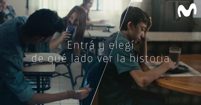 """""""Perspectivas"""", la campaña 2018 de Movistar contra la violencia digital"""
