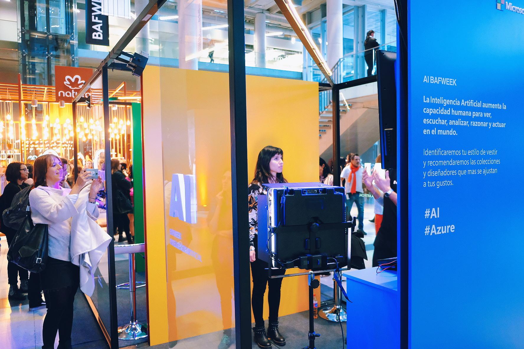 La IA de Microsoft en la Bafweek 2018