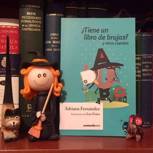 """Adriana Fernández escribe """"¿No tiene un libro de brujas?"""""""