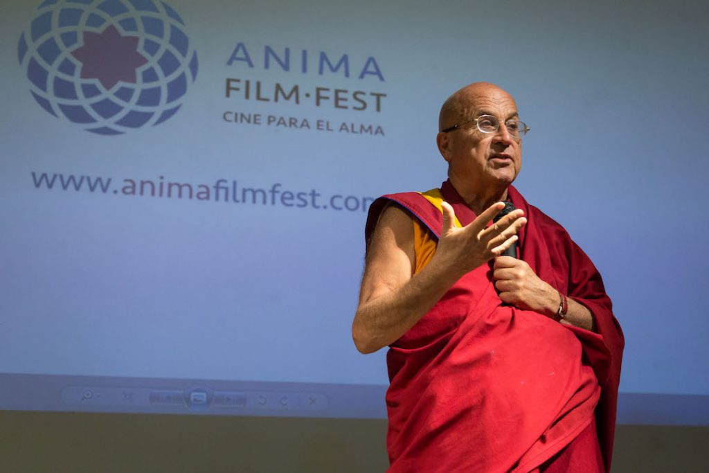 Mathieu Ricard, padrino de Anima Film Fest, y su búsqueda de la felicidad