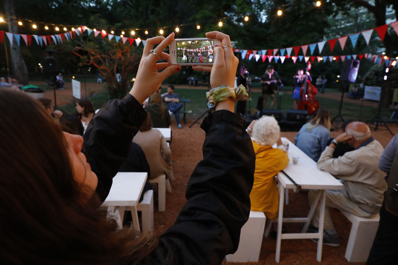 La Noche de los Jardines en el Jardín Botánico porteño