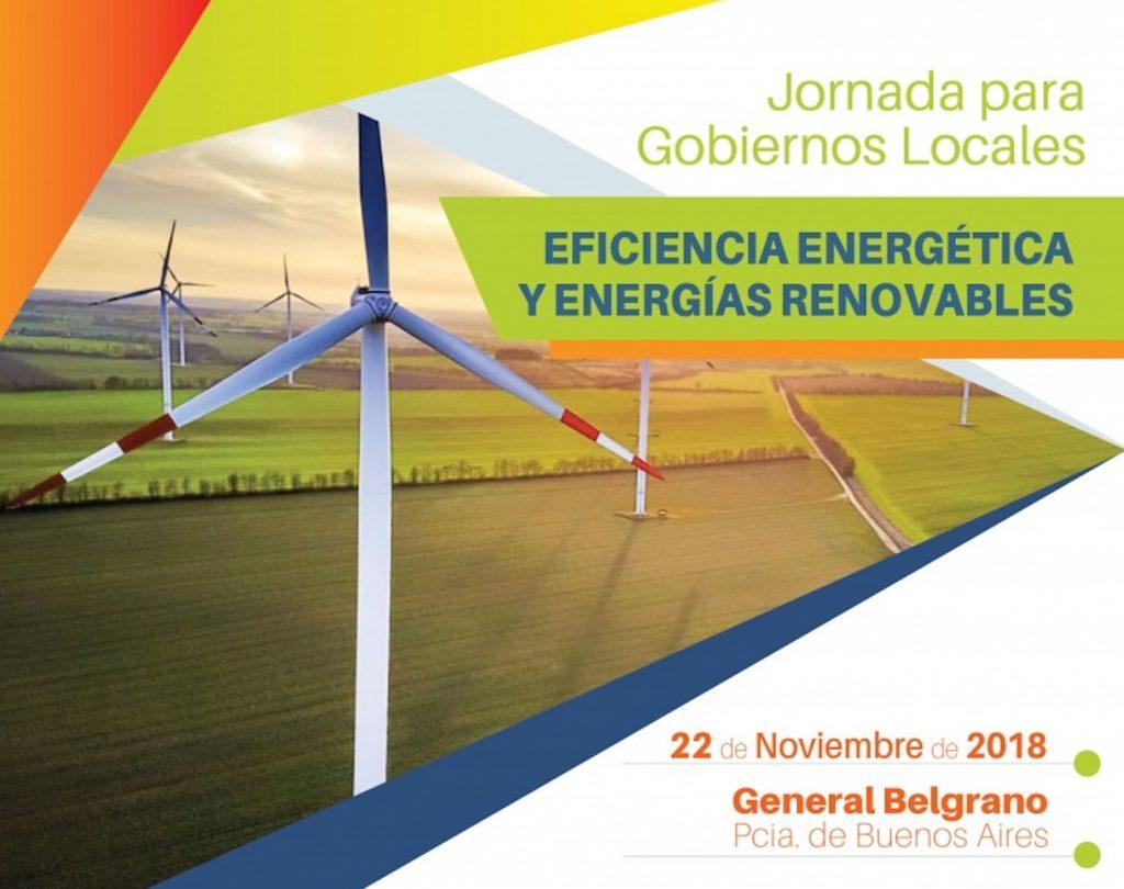 Jornada para Gobiernos Locales sobre Eficiencia Energética y Energías Renovables en General Belgrano, Pcia. de Buenos Aires