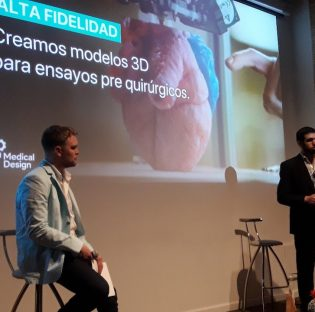 Espacio de Open Future de Telefónica incuba la impresión de órganos en 3D