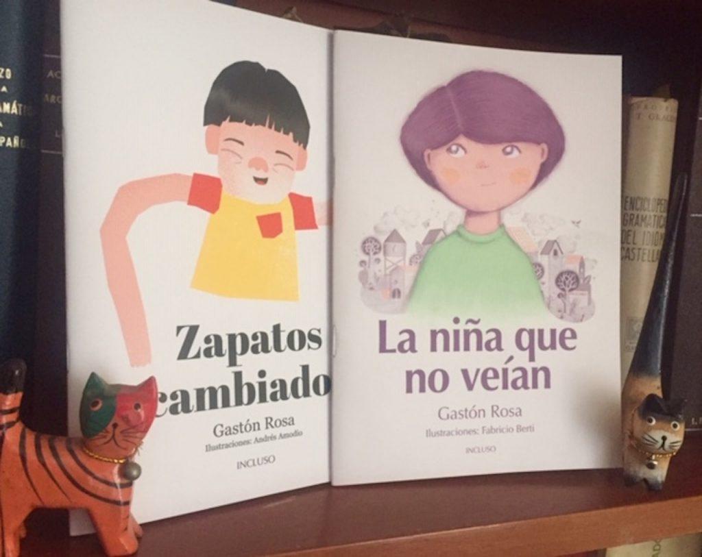 Editorial Incluso publica dos libros para celebrar la diversidad
