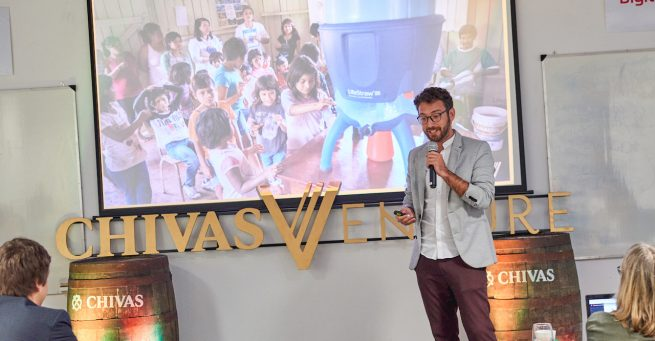 Nicolás Wertheimer, de Agua Segura, ganador argentino del Chivas Adventue