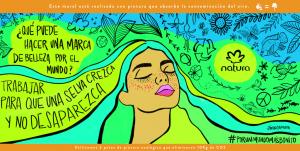 Natura y sus murales ambientales reducen la contaminación ciudadana en Buenos Aires y en Rosario