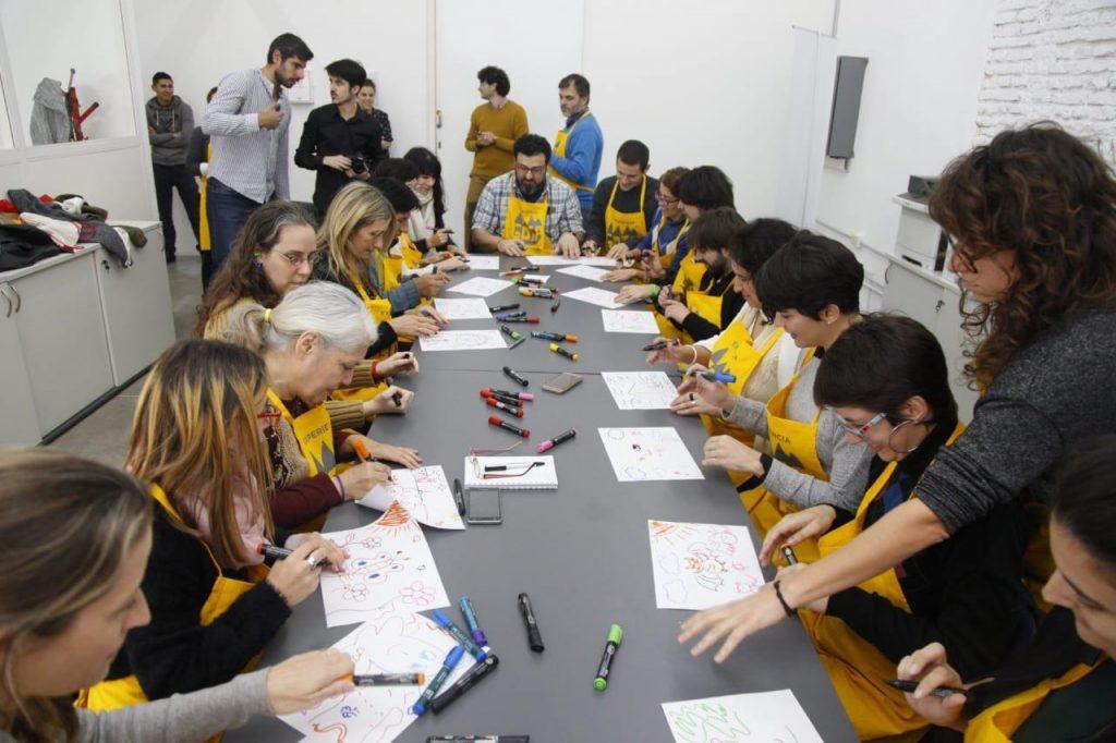 Noticias Positivas participó de la Experiencia Gota, junto con miembros de la agencia y otros periodistas