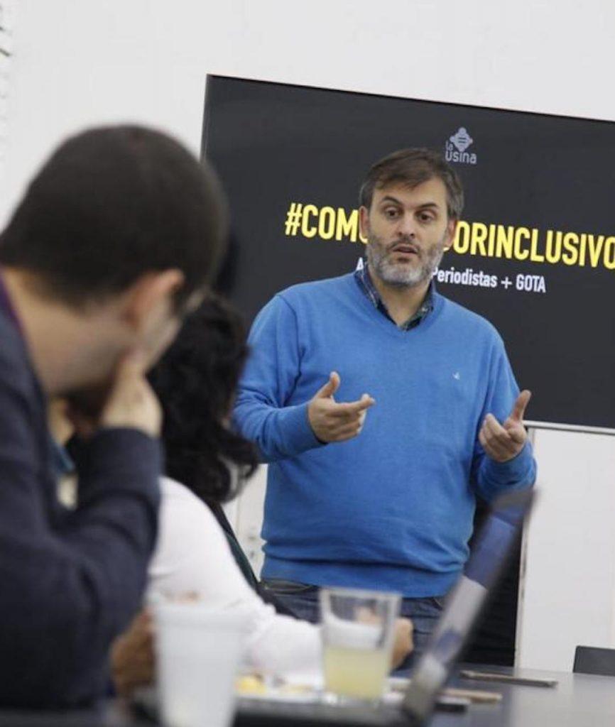 Noticias Positivas participó de la Experiencia Gota con miembros de la agencia y un grupo de periodistas