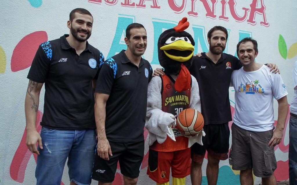 DIRECTV y Flybondi unidos en un programa de voluntariado del que participaron jugadores de básquet
