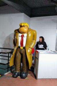 Boogie el Aceitoso, en el Centro Cultural Roberto Fontanarrosa, Rosario
