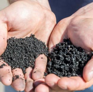 Los neumáticos reciclados pasan de ser residuos a integrar numerosos productos de la vida diaria