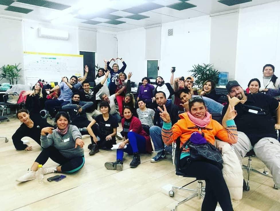 En el Barrio 31, la ONG Crear Vale la Pena de Inés Sanguinetti lleva adelante el programa Entornos Creativos