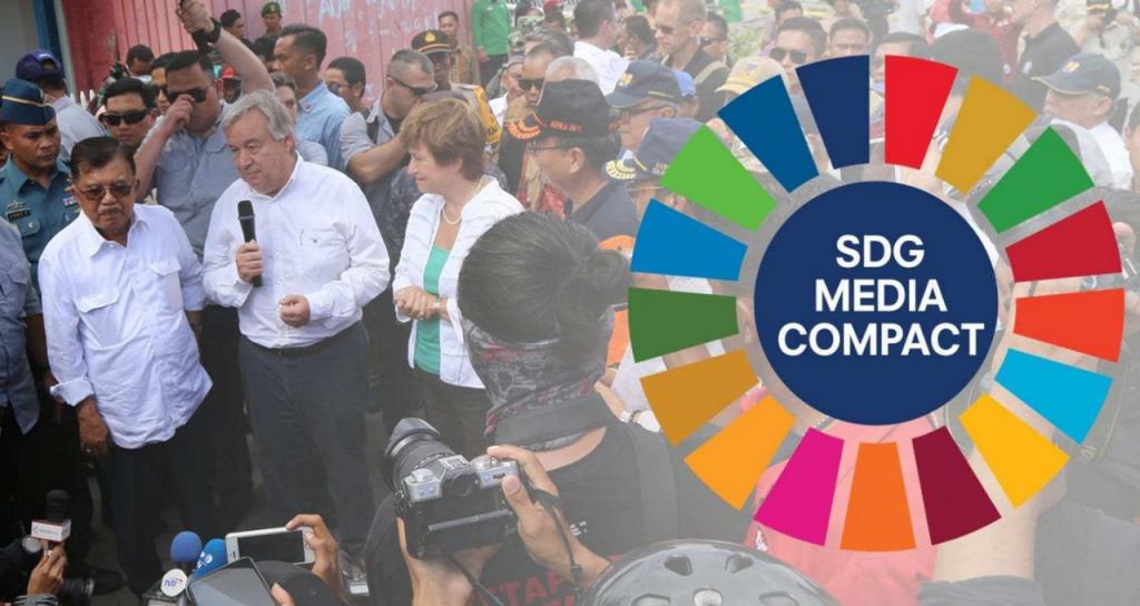 Noticias Positivas forma parte desde ahora del SGD Media Compact de las Naciones Unidas