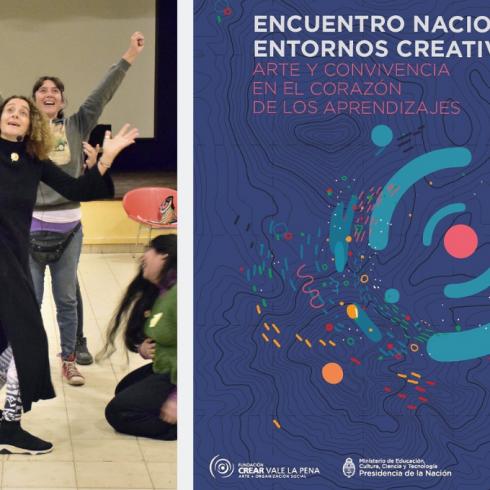 Crear Vale la Pena participa del Encuentro Nacional Entornos Creativos